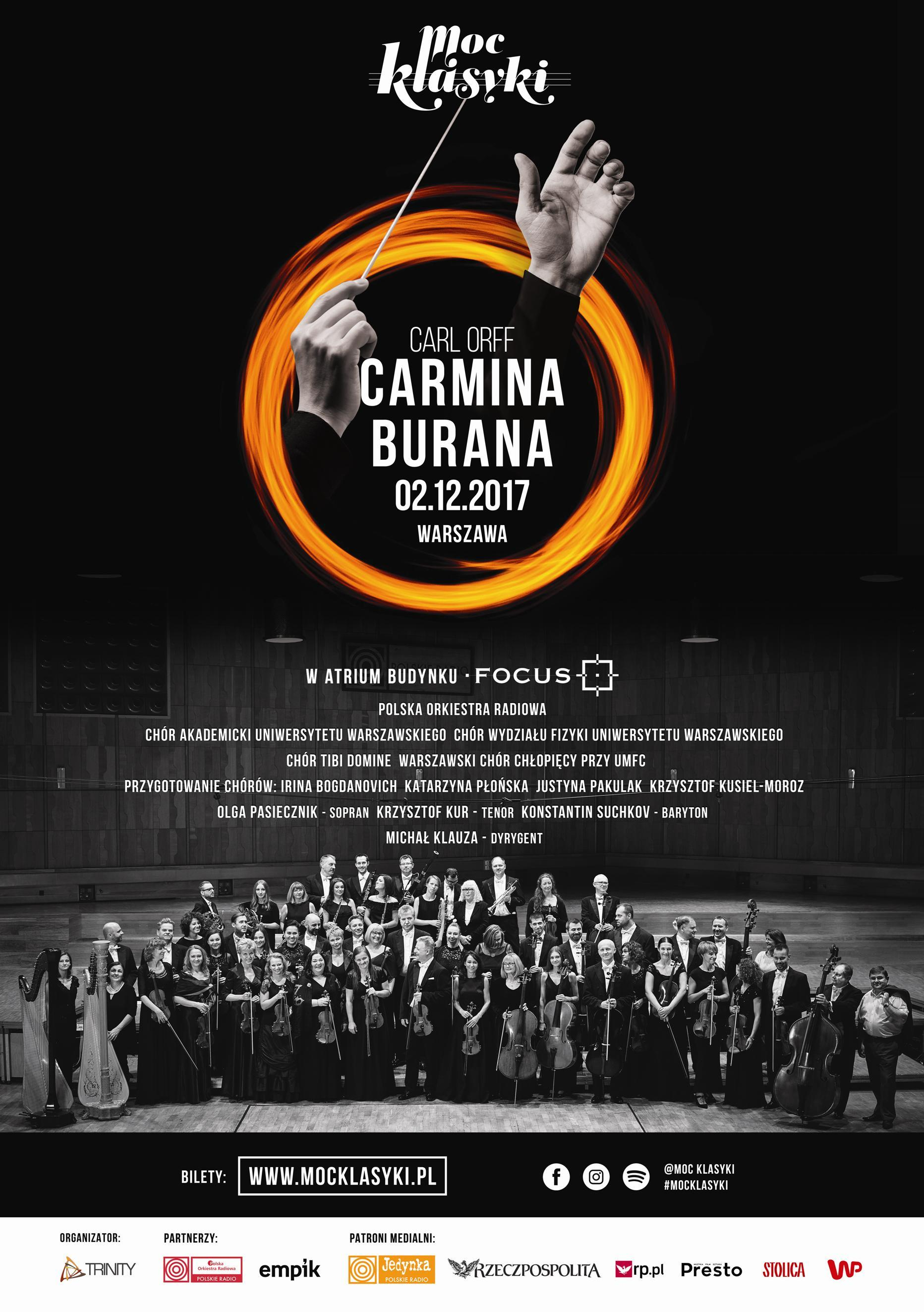 "Symphonic hit ""Carmina Burana"" in the FOCUS building in Warsaw"