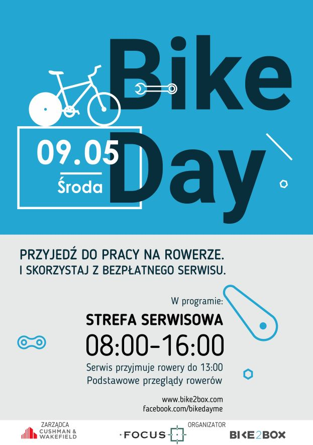 BIKE DAY w budynku FOCUS